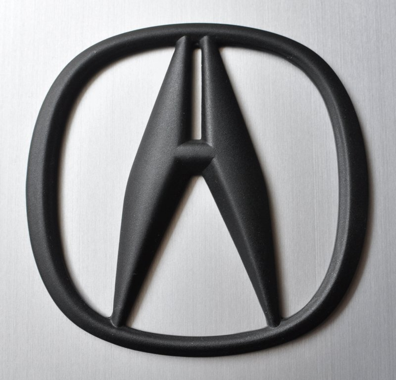 Black Acura Emblems submited images.